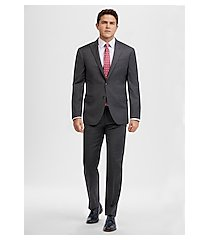 1905 collection slim fit stripe men's suit with brrr°® comfort - big & tall clearance by jos. a. bank