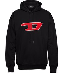 s-division-d sweat-shirt sweat-shirts & hoodies hoodies zwart diesel men