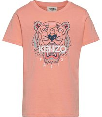 t-shirt t-shirts short-sleeved rosa kenzo