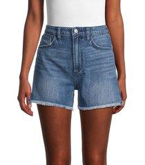 joe's jeans women's the kinsley denim shorts - blue - size 24 (0)