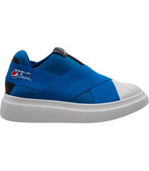 slip on donna sneakers edge pepsi