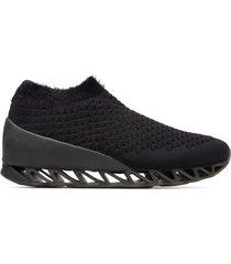 camper lab bernhard willhelm, sneakers hombre, negro , talla 46 (eu), k300310-001