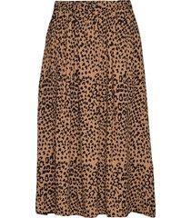 doma skirt knälång kjol brun nué notes
