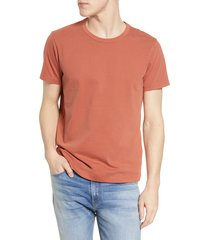 men's madewell garment dyed allday crewneck t-shirt, size xx-large - red