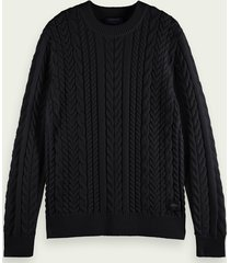scotch & soda monsanto crewneck sweater