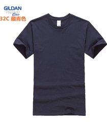 algodón camiseta de manga corta para hombre media manga