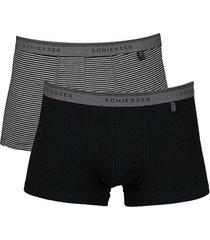 schiesser boxershorts 95-5 2-pak streep
