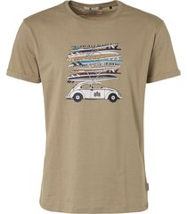 "t-shirt, s/s, r-neck, print ""surfb stone"