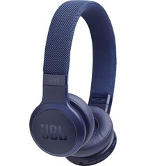 audifonos inalambricos jbl live 400bt con control de voz new azul