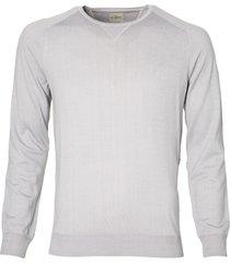 jac hensen premium pullover - slim fit -grijs