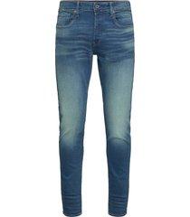3301 slim slimmade jeans blå g-star raw