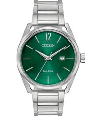 citizen drive from citizen eco-drive men's cto stainless steel bracelet watch 42mm