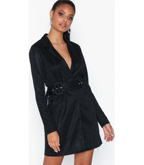 rare london metallic blazer dress skater dresses