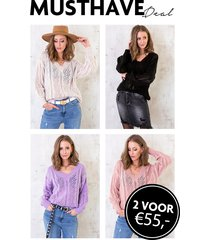 musthave deal gehaakte truien