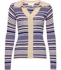 joy top t-shirts & tops long-sleeved blauw remain birger christensen