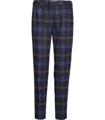 crop leisure trouser byxa med raka ben blå gerry weber edition