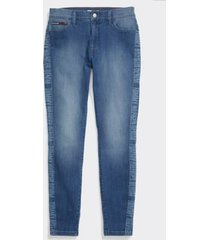 tommy hilfiger women's adaptive signature jegging light wash/ multi - 4