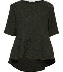liv blouse blouses short-sleeved groen lovechild 1979