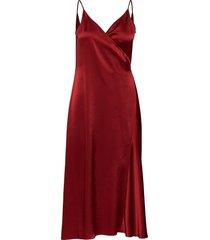 callie dress knälång klänning röd filippa k