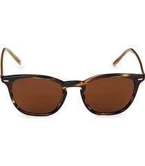 heaton 51mm square sunglasses