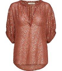 celena blouses short-sleeved roze rabens sal r