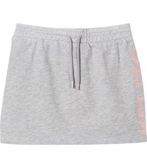 kenzo grey cotton skirt