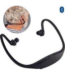 audifonos bluetooth diseño ergonomico para deporte - negro