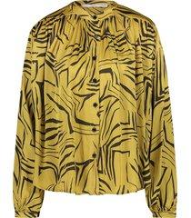 blouse met print zoya  groen