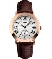 relojes casuales cuarzo para mujer reloj retro con correa cuero impermeable