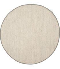 safavieh natural fiber marble and khaki 10' x 10' sisal weave round area rug