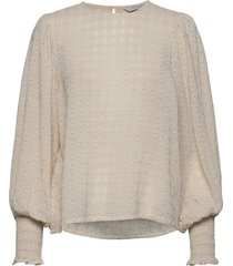 eritapw bl blouse lange mouwen grijs part two