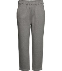 lara jersey jogger casual byxor grå mother of pearl
