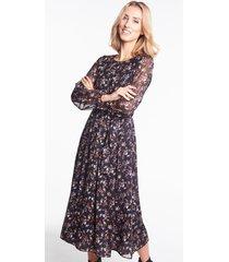 szyfonowa sukienka midi rocher