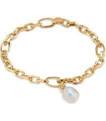 alta mini and pearl bracelet set