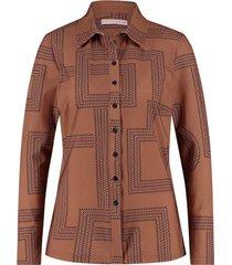 blouse poppy rope cognac
