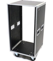 osp 20 space ata-style amp / effects studio rack case w/caster wheels - 20u