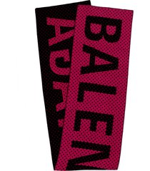 balenciaga magenta and black giant scarf