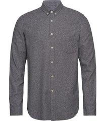 liam ba shirt 11245 overhemd casual grijs samsøe & samsøe