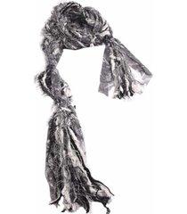 cachecol smm acessorios artesanal preto