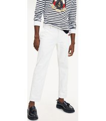 tommy hilfiger men's regular fit chino ivory - 30/34