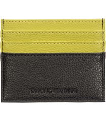 emporio armani 100fringesquarenudist credit card holder