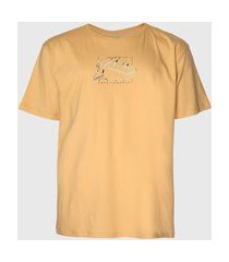 camiseta rusty logo amarela