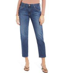 women's ag the ex-boyfriend slim jeans, size 32 - blue