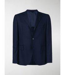 mp massimo piombo textured single breasted blazer