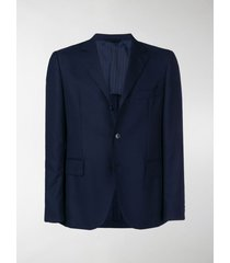 mp massimo piombo textured single breasted blazer