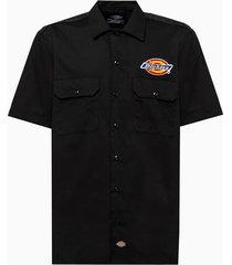 dickies clintondale shirt dk520348blk1