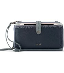 the sak iris smartphone leather crossbody wallet