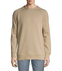 cotton blend pullover