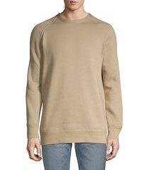 cotton blend pullover