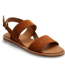 karsea strap shoes summer shoes flat sandals brun clarks